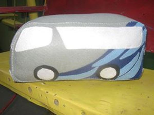 Boneka Maskot Bus Sumber Alam 3