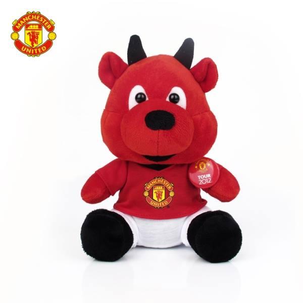 Pembuatan Boneka Maskot Manchester United MU Setan Merah