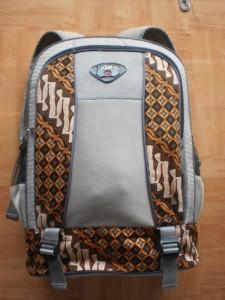 Tas Punggung Batik untuk Acara Seminar Nasional Tampak Depan