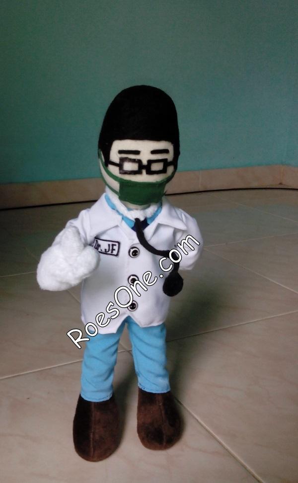 Boneka Maskot Jurusan Kedokteran