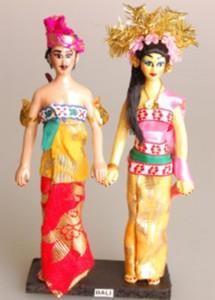 Boneka Souvenir Pernikahan Adat Bali Murah Berkualitas