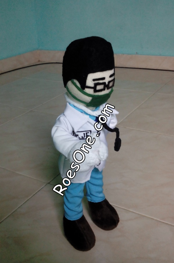 Boneka Souvenir Wisuda Jurusan Kedokteran