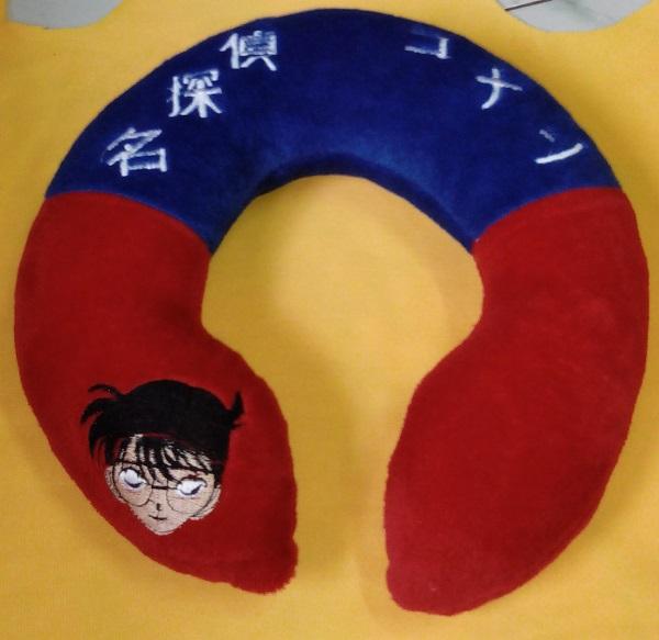 Pembuatan Bantal Leher Conan