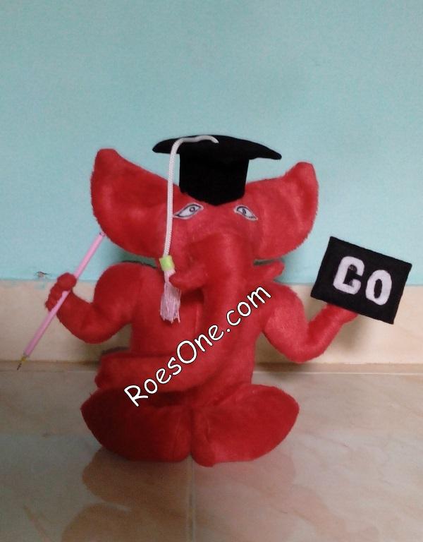 Pembuatan Boneka Maskot Ganesha Operation