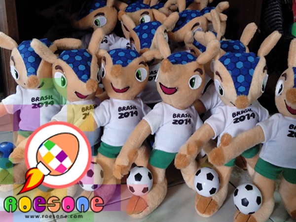 Brazil 2014 World Cup Mascot Dolls