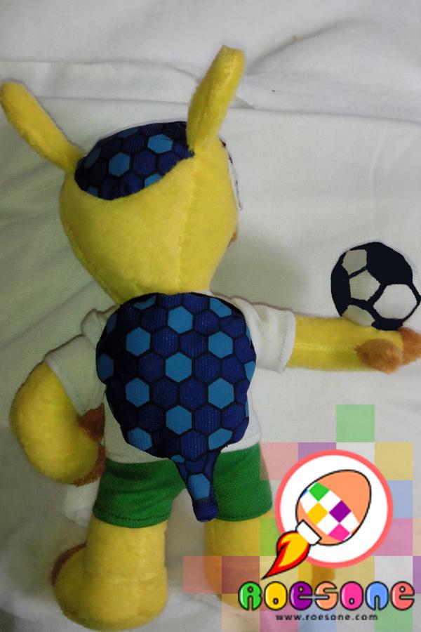 Maskot Piala Dunia 2014 FULECO Versi Terbaru Souvenir Sepakbola