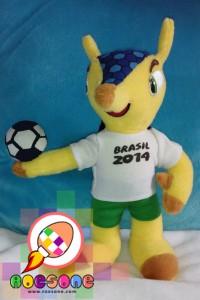 Maskot Piala Dunia 2014 FULECO versi terbaru Roesone Craft