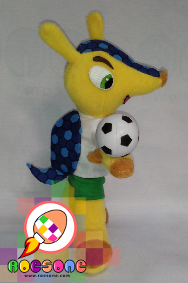 New Version Maskot Piala Dunia 2014 FULECO