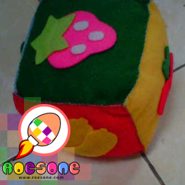 boneka dadu motif buah