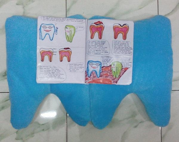 Boneka Cerita Gigi untuk Pendidikan Anak