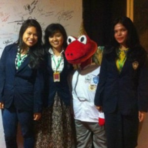 Maskot Olimpiade Kedokteran Nasional 2014 Cicak