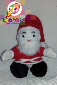 Produsen Boneka Souvenir Natal Santa Claus Lucu untuk Anak
