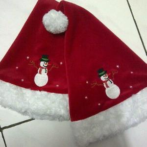 Tempat Buat dan Bikin Topi Natal Merry Christmas