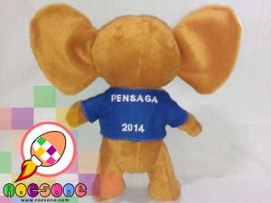 Boneka maskot PENSAGA Semarang