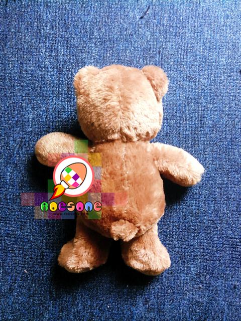 Boneka Teddy dari belakang