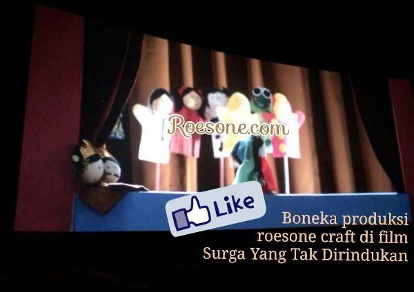 Boneka Properti Film Surga yang Tak Dirindukan