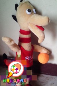 Boneka Maskot FIBA Asia 2015