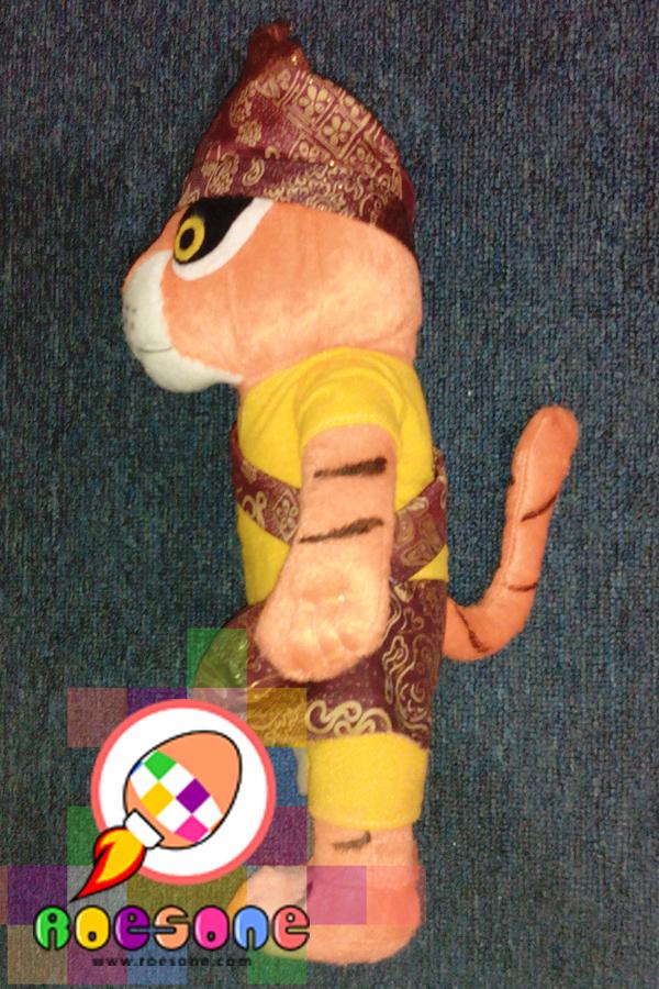 Boneka Maskot Harimau Sumatera