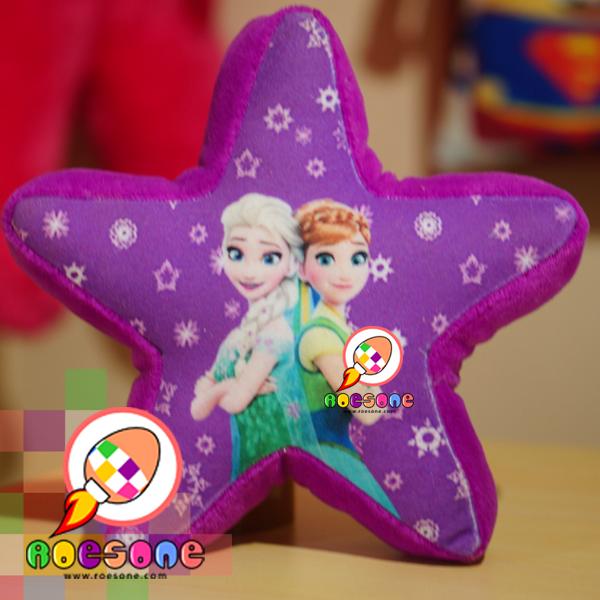 Bantal Frozen Elsa Hadiah Ulang Tahun Custom Nama