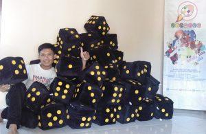 Boneka Dadu Acara Outdoor BPOM Sumatera
