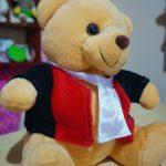 Boneka Teddy Bear Profesi Hakim Jaksa Agung