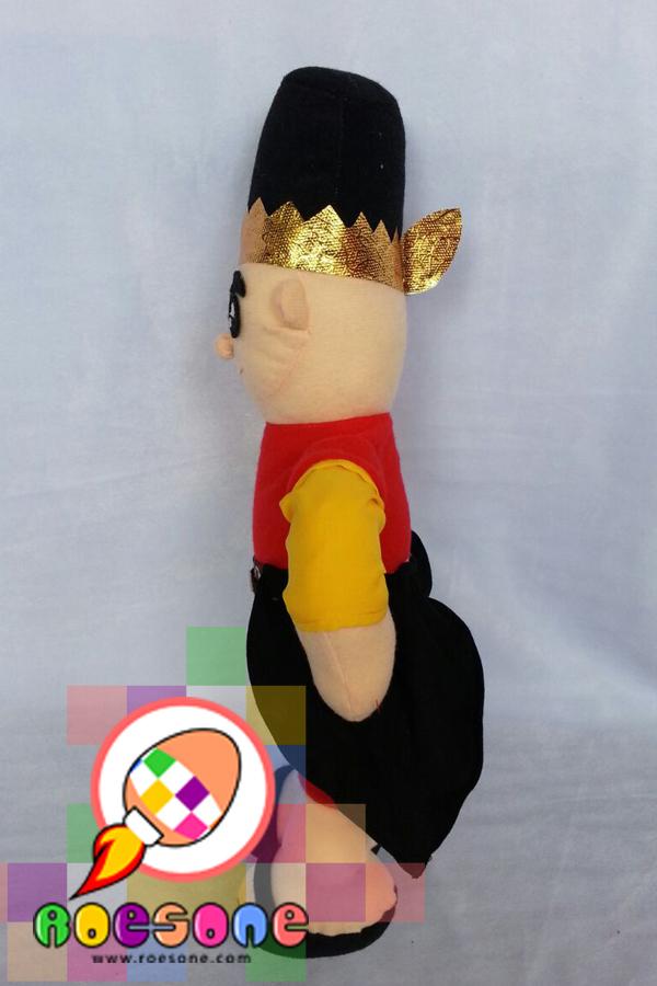 Boneka Maskot Prajurit Keraton Jogjakarta Nyutro