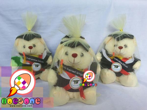 Boneka Teddy Bear Wisuda