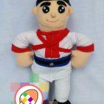 Boneka Maskot Prajurit Kerajaan Keraton Jogjakarta Dhaeng