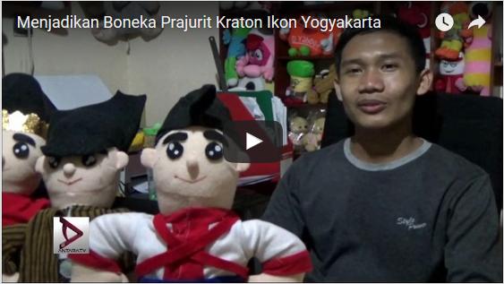 Boneka Prajurit Keraton sebagai Ikon Yogyakarta