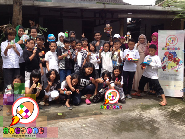 Study Tour SD Tumbuh Yogyakarta ke RoesOne Produsen Boneka