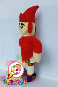 Boneka Prajurit Wirobrojo Ikon Keraton Jogjakarta