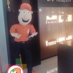 Boneka Badut Maskot Promosi BPS Bantul Yogyakarta