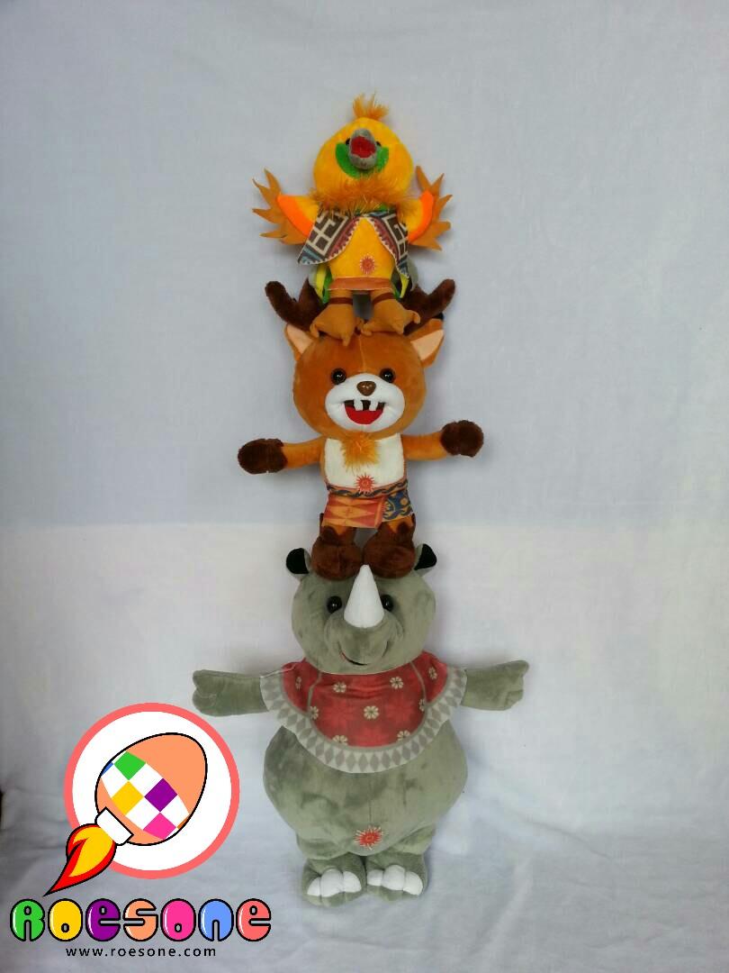 Boneka Maskot ASIAN GAMES