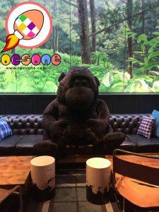 Produsen Boneka Maskot Giant Gorilla untuk Cafe di Bandung