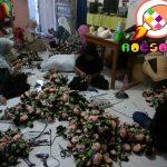 Proses Produksi Boneka Maskot PORDA DIY 2017