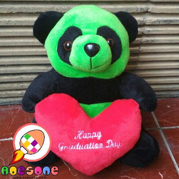 Boneka Beruang Wisuda Happy Graduation Day