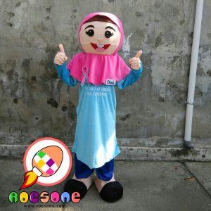 Boneka Maskot Aisyiyah Muhammadiyah Untuk Kampanye Cek Kanker Rahim