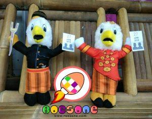 Boneka Maskot KPU PALOPO Burung Khas Sulawesi