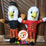 Boneka Maskot KPU PALOPO Sulawesi Selatan