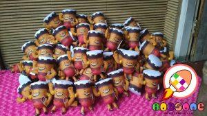 Boneka Maskot KPU Tegal Jawa Tengah