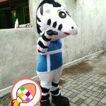 Boneka Badut Promosi Keselamatan Kementerian Perhubungan Republik Indonesia