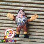 Boneka Maskot KPU Madiun Jawa Timur Gunungan Wayang