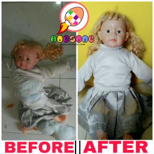 Jasa Reparasi Boneka Murah dan Terpercaya di Jogja