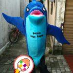 Produsen Boneka Maskot Dolphin Raja Ampat Sorong