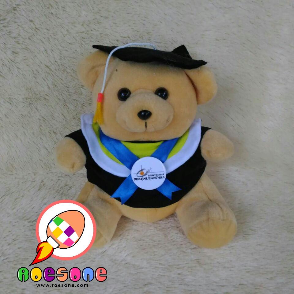 Produsen Boneka Souvenir Wisuda Universitas Bina Nusantara Binus