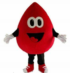 Produsen Boneka Maskot Badut PMI untuk Donor Darah