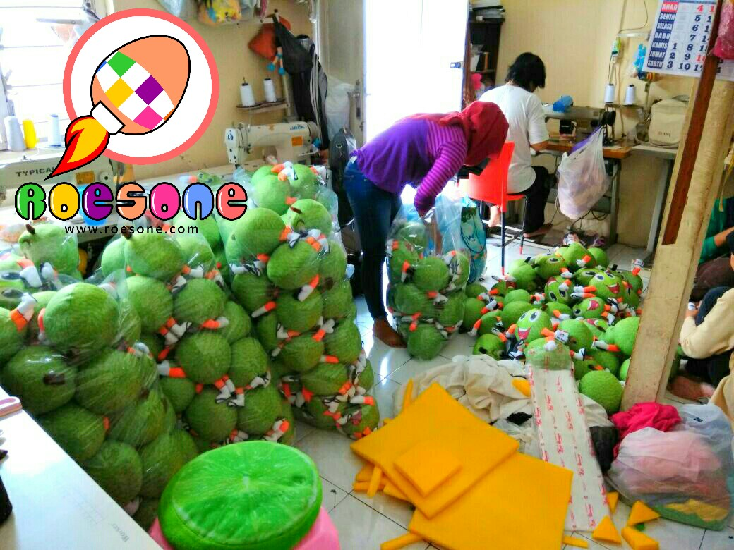 Produsen Boneka Maskot Promosi Durian KPU Empat Lawang