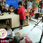 Proses Syuting Laptop Si Unyil Trans 7 di Produsen Boneka RoesOne Craft