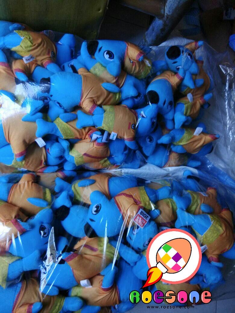 Produsen Boneka Maskot Pilkada Samarinda Kaltim