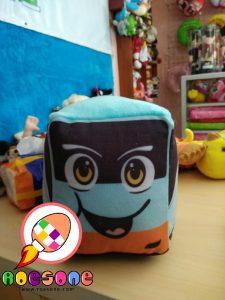 Pembuatan Boneka Promosi Maskot Bis dan Travel